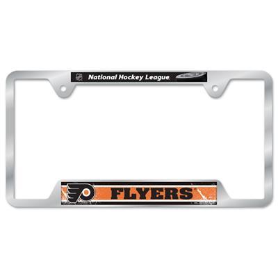 Metal License Frame PHL (Wincraft Metal Hockey Liscense Plate Frame)
