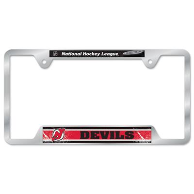 Metal License Frame NJ (Wincraft Metal Hockey License Plate Frame)