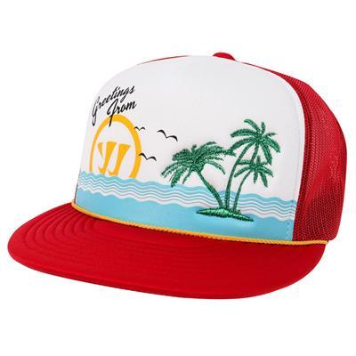 Vaycay Trucker Lacrosse Hat (Warrior Vaycay Trucker Lacrosse Hat - Adult)