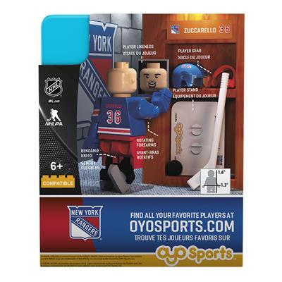 G3 Minifigure - Zuccarello NYR (OYO Sports Mats Zuccarello G3 Minifigure - New York Rangers)