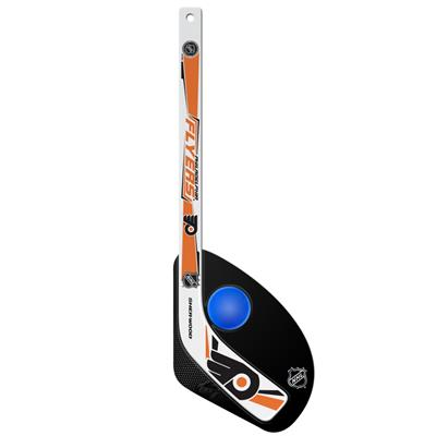 Gen II Mini Stick w/ Ball PHI (Sher-Wood Hattrick Gen II 2 Piece Mini Player Stick w/ Foam Ball - Philadelphia Flyers)