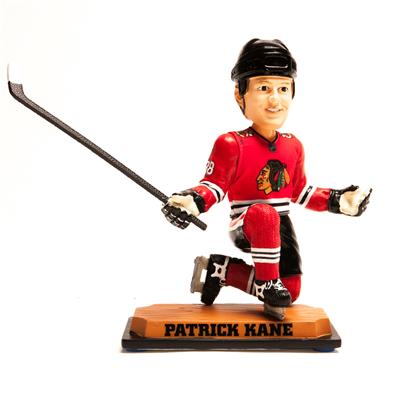 Bobble Head CHI (Forever Collectibles Bobble Head - Chicago Blackhawks - Patrick Kane)