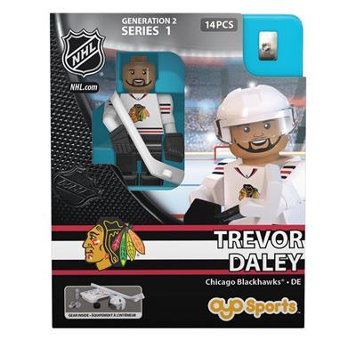 Trevor Daley Minifigure CHI (OYO Sports Trevor Daley Minifigure - Chicago Blackhawks)