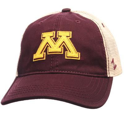 Summertime Hat (Zephyr Summertime Snapback Hockey Hat - University of Minnesota Gophers - Adult)