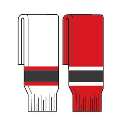 FlexxIce Team SK200 Socks NJD (FlexxIce Team SK200 Hockey Socks - New Jersey Devils)
