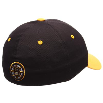 Seal Hat BOS (Zephyr Seal Stretch Fit Hockey Hat - Boston Bruins)