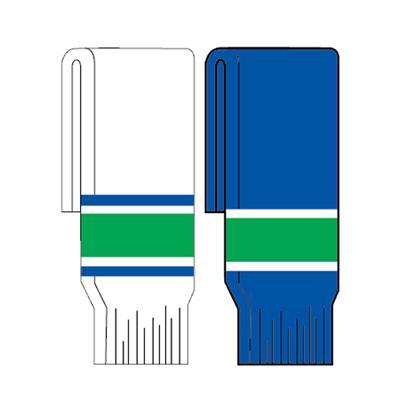FlexxIce Team SK200 Socks VAN (FlexxIce Team SK200 Hockey Socks - Vancouver Canucks)