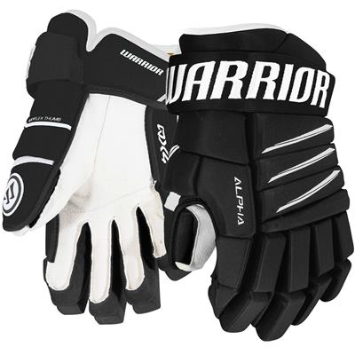 Black/White (Warrior Alpha QX4 Hockey Gloves)