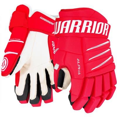 Red/White (Warrior Alpha QX4 Hockey Gloves)
