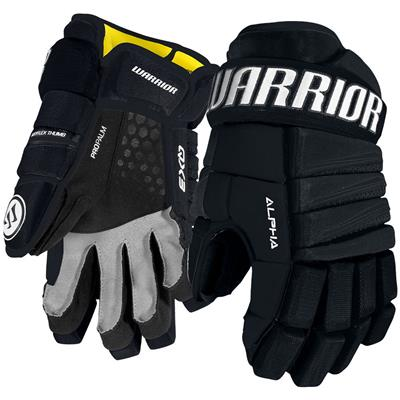 Navy (Warrior Alpha QX3 Hockey Gloves - Senior)