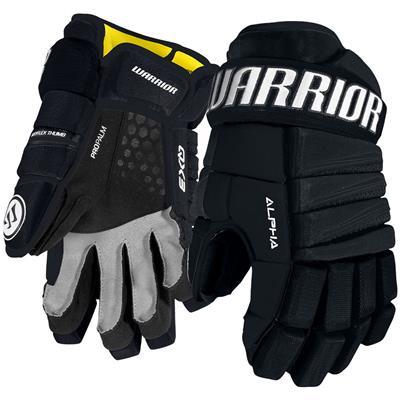 Navy (Warrior Alpha QX3 Hockey Gloves - Junior)