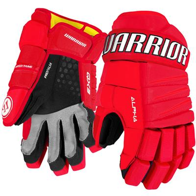 Red/White (Warrior Alpha QX3 Hockey Gloves - Senior)