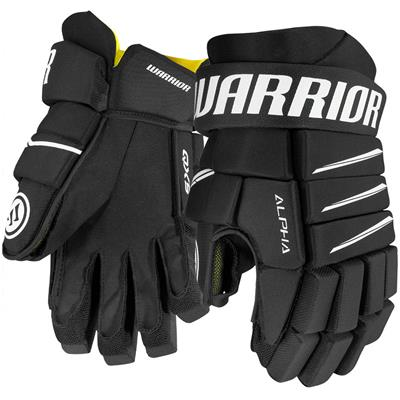 Black (Warrior Alpha QX5 Hockey Gloves - Senior)