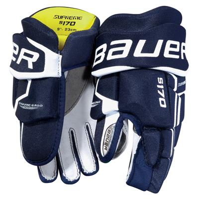 stock (Bauer Supreme S170 Hockey Gloves - 2017 - Youth)