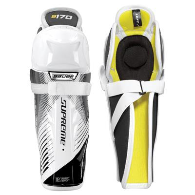 stock (Bauer Supreme S170 Hockey Shin Guards - 2017)