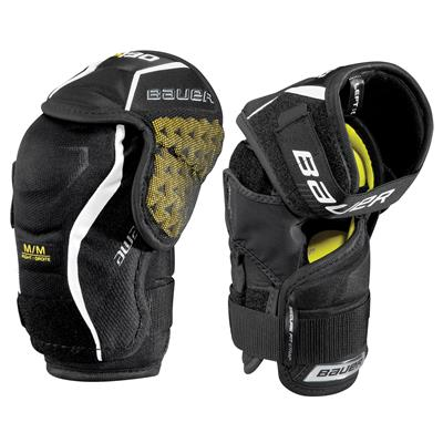 stock (Bauer Supreme S190 Hockey Elbow Pads - 2017 - Junior)