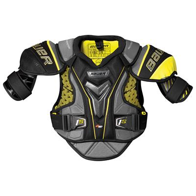 stock (Bauer Supreme 1S Hockey Shoulder Pads - 2017 - Junior)
