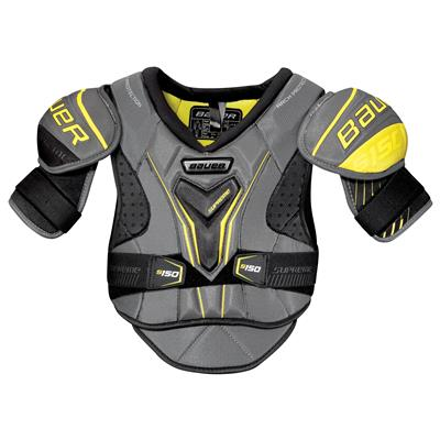 stock (Bauer Supreme S150 Hockey Shoulder Pads - 2017)