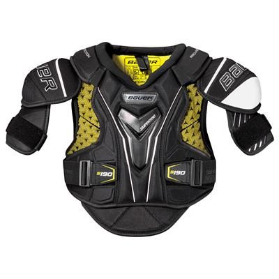 stock (Bauer Supreme S190 Hockey Shoulder Pads - 2017 - Junior)