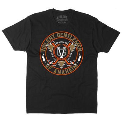 Anaheim Throwback 2.0 T-Shirt (Violent Gentlemen Anaheim Throwback 2.0 Hockey Shirt)