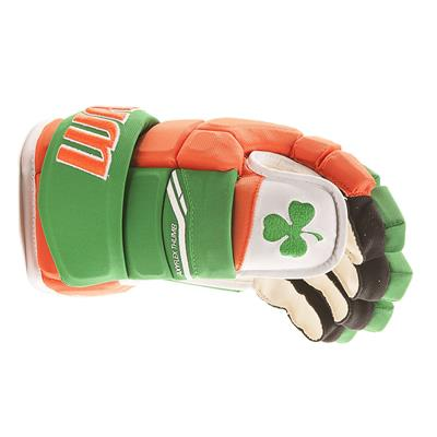 (Warrior Alpha Pro Irish Hockey Gloves)