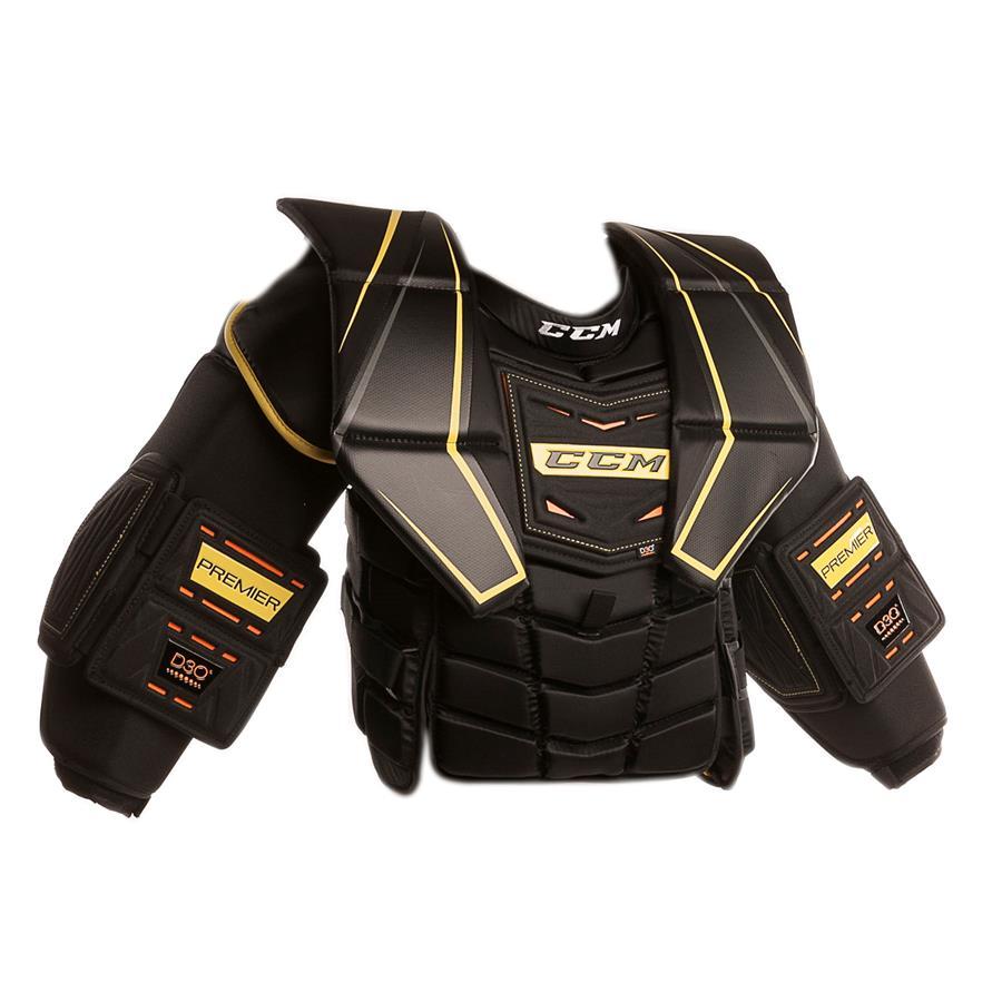 9a774191627 Premier Pro Chest Protector (CCM Premier Pro Goalie Chest And Arm Protector  - Senior)