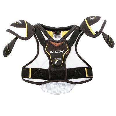 Super Tacks Shoulder Pad (Yth) - Front (CCM Super Tacks Hockey Shoulder Pads - Youth)