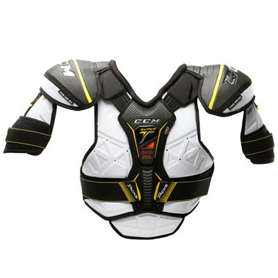 Super Tacks Shoulder Pad 2017 - Front (CCM Super Tacks Hockey Shoulder Pads - Junior)