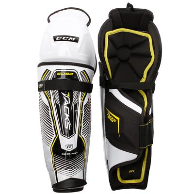 Tacks 5092 Shin Guard (2017) - Front/Back (CCM Tacks 5092 Hockey Shin Guards - Senior)