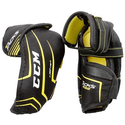 Tacks 3092 Elbow Pads (2017) - Front/Back (CCM Tacks 3092 Hockey Elbow Pads - Junior)