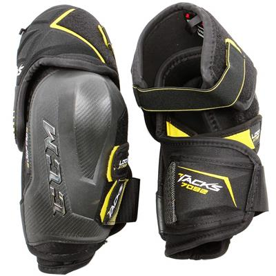 Tacks 7092 Elbow Pads (2017) - Front/Back View (CCM Tacks 7092 Hockey Elbow Pads)