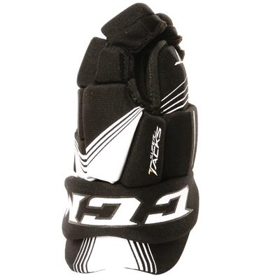 Super Tacks Gloves (Youth) - Left View (CCM Super Tacks Hockey Gloves - Youth)