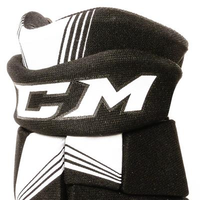 Super Tacks Gloves (Youth) - Cuff View (CCM Super Tacks Hockey Gloves - Youth)