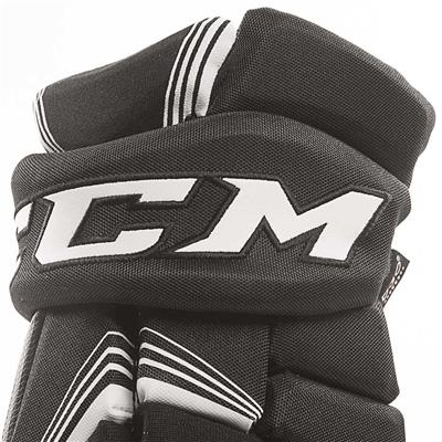 Super Tacks Gloves (2017) - Cuff View (CCM Super Tacks Hockey Gloves)