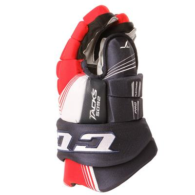 Tacks 5092 Gloves (2017) - Side View (CCM Tacks 5092 Hockey Gloves)