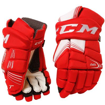Tacks 7092 Gloves (2017) - Front View (CCM Tacks 7092 Hockey Gloves - Junior)
