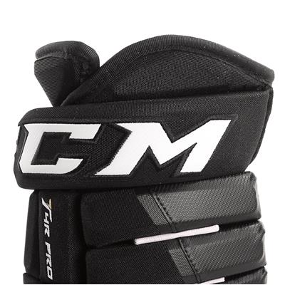 4R Pro Gloves (2017) - Cuff View (CCM 4R Pro Hockey Gloves - Senior)