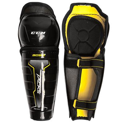 Tacks 3092 Shin Guard (Youth) - Front/Inside View (CCM Tacks 3092 Shin Guards)