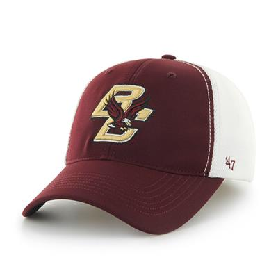 DRAFT DAY CLOSER BC HAT - Front View (47 Brand Draft Day Closer Hockey Hat - Boston College)