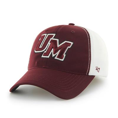 DRAFT DAY CLOSER UMASS HAT - Front View (47 Brand Draft Day Closer Hockey Hat - University of Massachusetts)