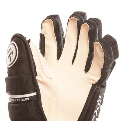 Alpha QX Pro Glove - Palm View (Warrior Alpha QX Pro Hockey Gloves)