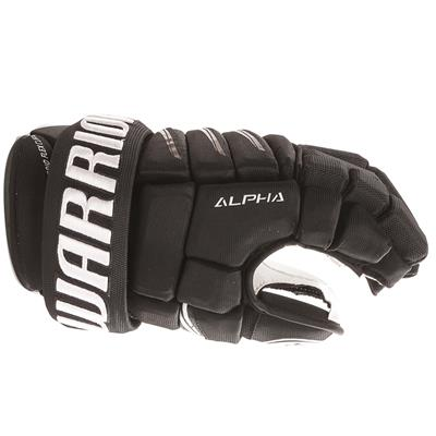 Alpha QX Pro Glove - Side View (Warrior Alpha QX Pro Hockey Gloves - Junior)