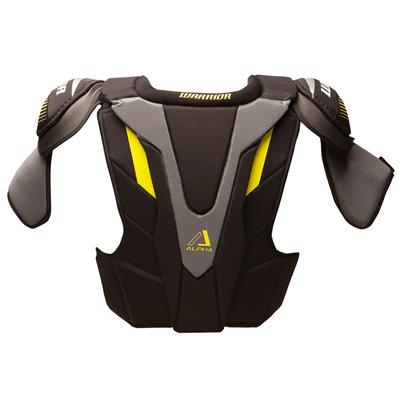 Alpha QX Pro Shoulder Pad - Back View (Warrior Alpha QX Pro Hockey Shoulder Pads - Senior)