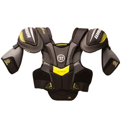 Alpha QX Pro Shoulder Pad - Front View (Warrior Alpha QX Pro Hockey Shoulder Pads - Junior)