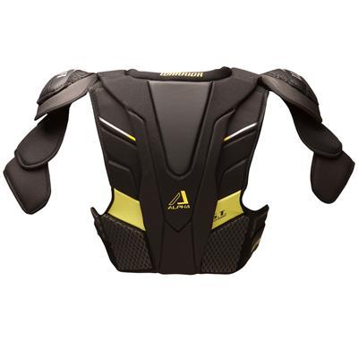 Alpha QX Shoulder Pad - Back  View (Warrior Alpha QX Hockey Shoulder Pads)