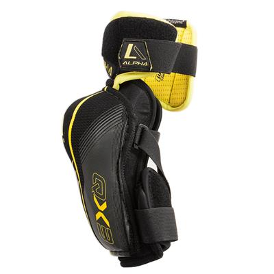 Alpha QX3 Elbow Pad - Left View (Warrior Alpha QX3 Hockey Elbow Pad - Senior)