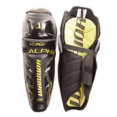 Alpha QX3 Shin Guard - Default View (Warrior Alpha QX3 Hockey Shin Guards - Senior)