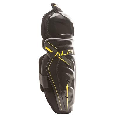 Alpha QX3 Shin Guard - Right View (Warrior Alpha QX3 Hockey Shin Guards - Senior)