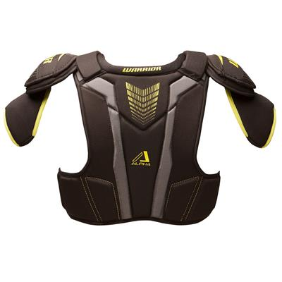 Alpha QX3 Shoulder Pad - Back  View (Warrior Alpha QX3 Hockey Shoulder Pads - Senior)