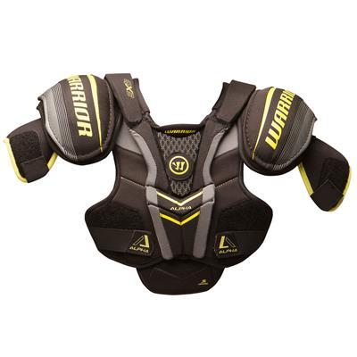 Alpha QX3 Shoulder Pad - Front View (Warrior Alpha QX3 Hockey Shoulder Pads)
